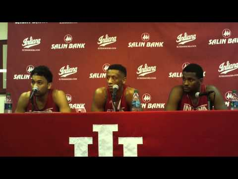 James Blackmon Jr., Troy Williams and Stanford Robinson preview Illinois game