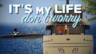 Скачать Chawki It 39 S My Life Feat Dr Alban Produced By RedOne Amp Rush Official Lyric Video