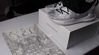 My Drawings On A Custom Shoe
