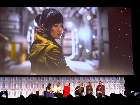 """Rose / Kellie Marie Tran introduced for """"The Last Jedi"""" at Star Wars Celebration 2017"""
