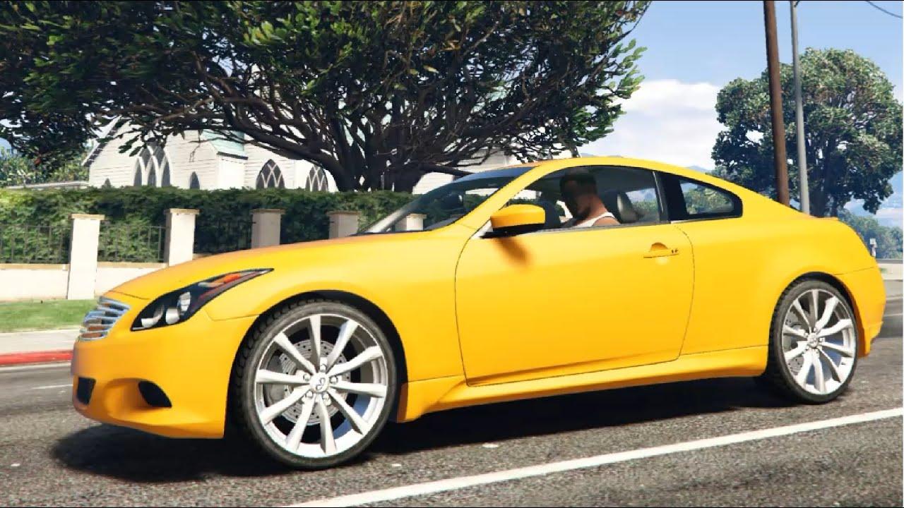 2008 Infiniti G37 Coupe Sport - GTA V - YouTube