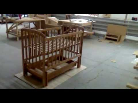 Baby Crib swinging mechanism