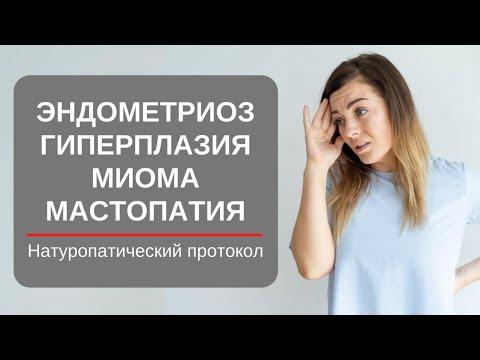 Эндометриоз. Миома. Гиперплазия матки. Мастопатия. Натуропатический подход!