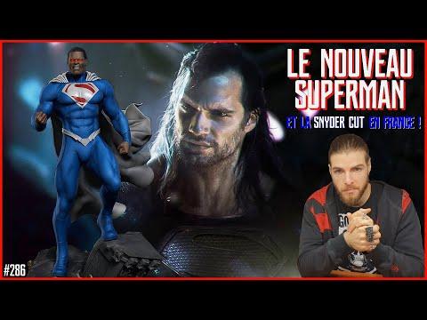 UN NOUVEAU SUPERMAN NOIR (meilleure solution !) & la SNYDER CUT en FRANCE ! JT Comics #286 - 3/3/21