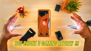 ASUS ROG Phone 3 Gaming Review | BEAST!