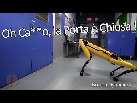 I Robot Della Boston Dynamics Vanno a Mign0tte