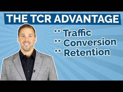 The TCR Advantage Marketing Strategy (Traffic, Conversion, R