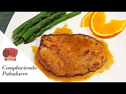 POLLO EN SALSA DE NARANJA / Chicken in Orange sauce -COMPLACIENDO PALADARES
