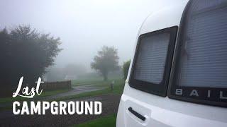 Last Campground On UK Trip 🇬🇧Before Returning Caravan - Stowford Farm Meadows