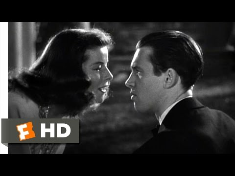 The Philadelphia Story (5/10) Movie CLIP - Tracy & Mike (1940) HD