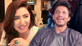 Shahrukh Khan SHARES Funny Moment Of Mahira Khan On Airport - Raees
