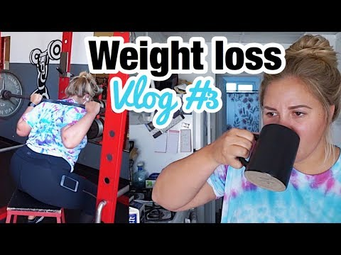 WEIGHT LOSS JOURNEY: VLOG #3 | AT HOME COFFEE | LEG DAY WORKOUT