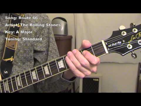 Route Guitar Lesson YouTube - Route 66 youtube