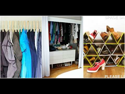 Hot 60 + Space Saving Ideas For Small Closets Design Ideas 2018 - Home Decorating Ideas