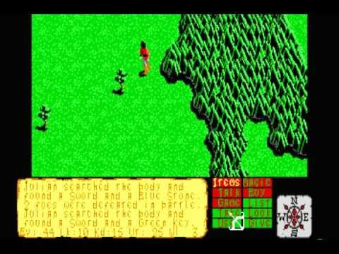 The Faery Tale Adventure: Book I (MS-DOS) Intro und Gameplay