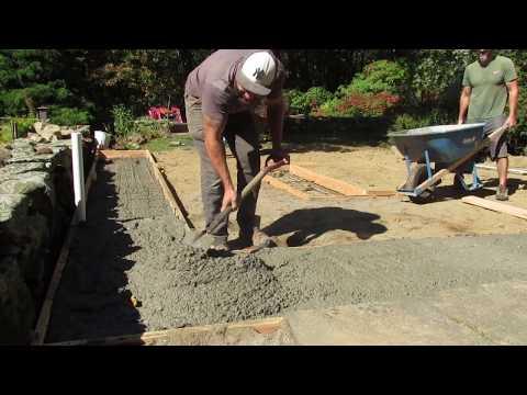 DIY Building an Outdoor kitchen 1 first step