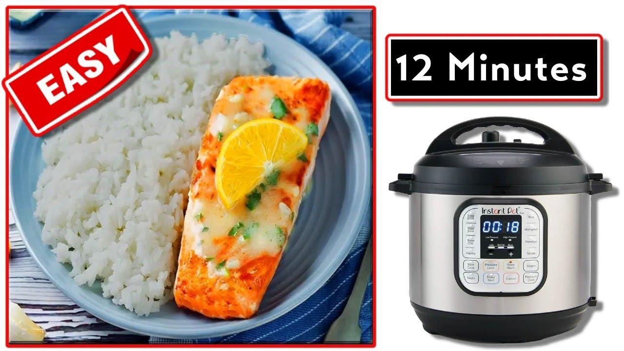 Pressure cooker salmon instant pot easy fish recipe for Instant pot fish recipes