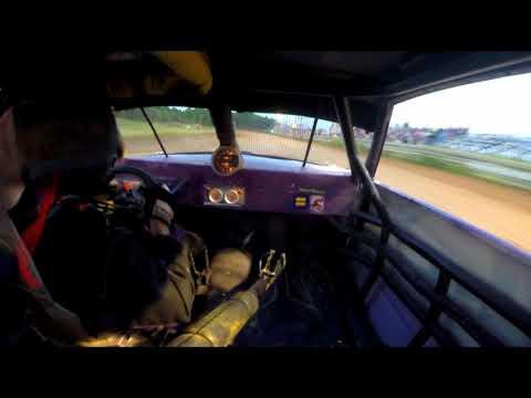 latrobe speedway  pure stock heat win 1