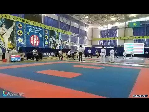 Чемпионат Республики Казахстан по каратэ шито-рю (WKF)
