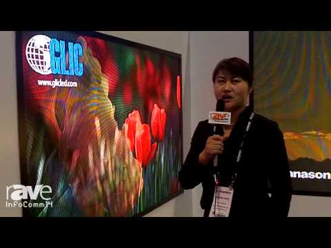 InfoComm 2014: GLIC LED Displays Shows its Different Display Offerings
