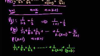Proof by Mathematical Induction than a statement P(n) is true for all values of n
