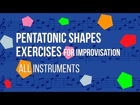 Pentatonic Exercises for Improvisation- All Instruments