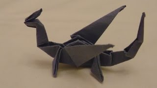 Origami Dragon Tutorial [HD]