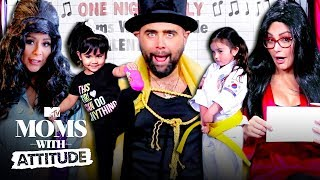 Snooki & JWoww Reenact 'Jersey Shore' For Their Kids | Moms with Attitude | MTV