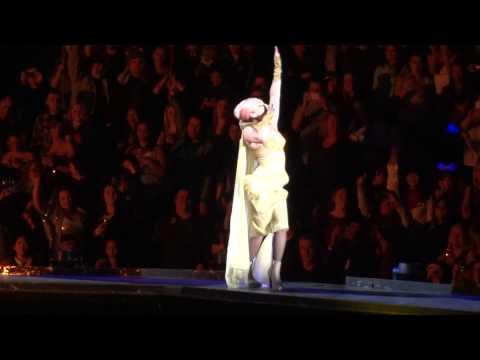 Lady Gaga Vancouver 2013 - Amen Fashion Black Jesus