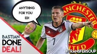Schweinsteiger To Man Utd Confirmed | #transfersoup