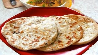 Paneer Kulcha Recipe Video - Indian Stuffed Bread Recipe By Bhavna