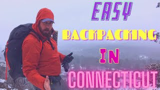 Easy backpacking overnight iฑ CT