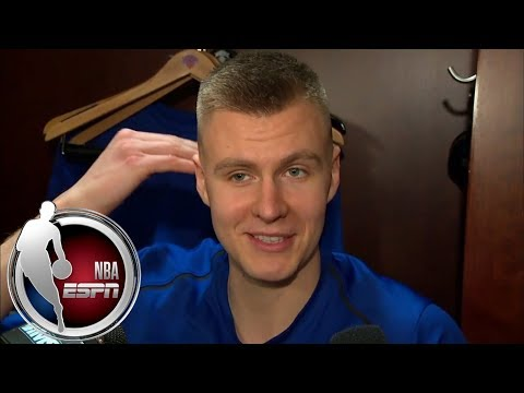Kristaps Porzingis makes light of awful shooting night | ESPN