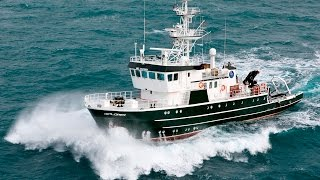 Download Video Shipsforsale Sweden, Hydrographic survey / Rescue vessel Ixplorer/Kinfish starting up main engine. MP3 3GP MP4