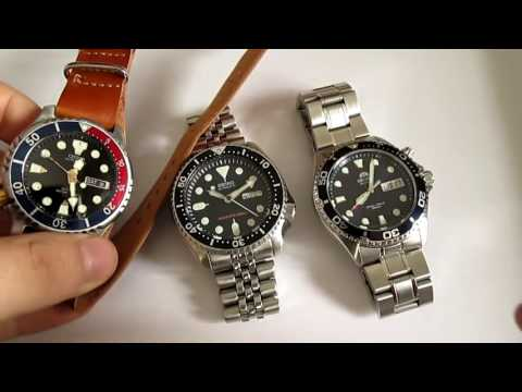 Seiko SKX vs Citizen Promaster vs Orient Ray 3 Best Dive Wat