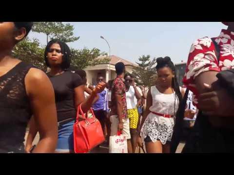 Rise Up Magazine Nigeria Fashion Idol visit to RECLINE BEAUTY SPA