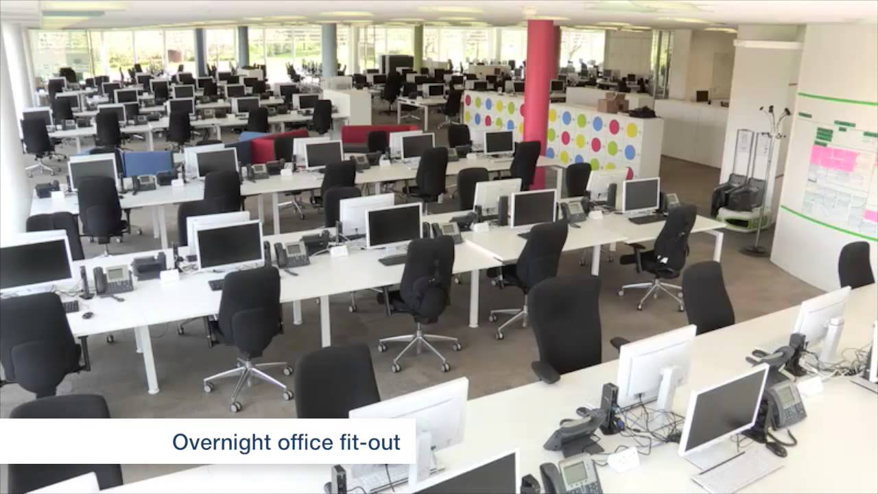 Agile Workspace Office Fit Out For Specsavers By Spaceway