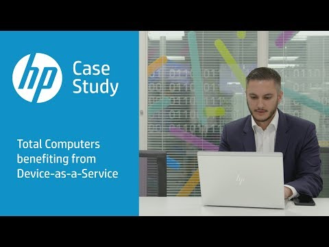 Total HP Device-as-a-Service Case Study