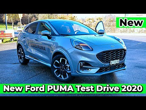 Test Drive New Ford Puma Hybrid St Line X 2020 Youtube