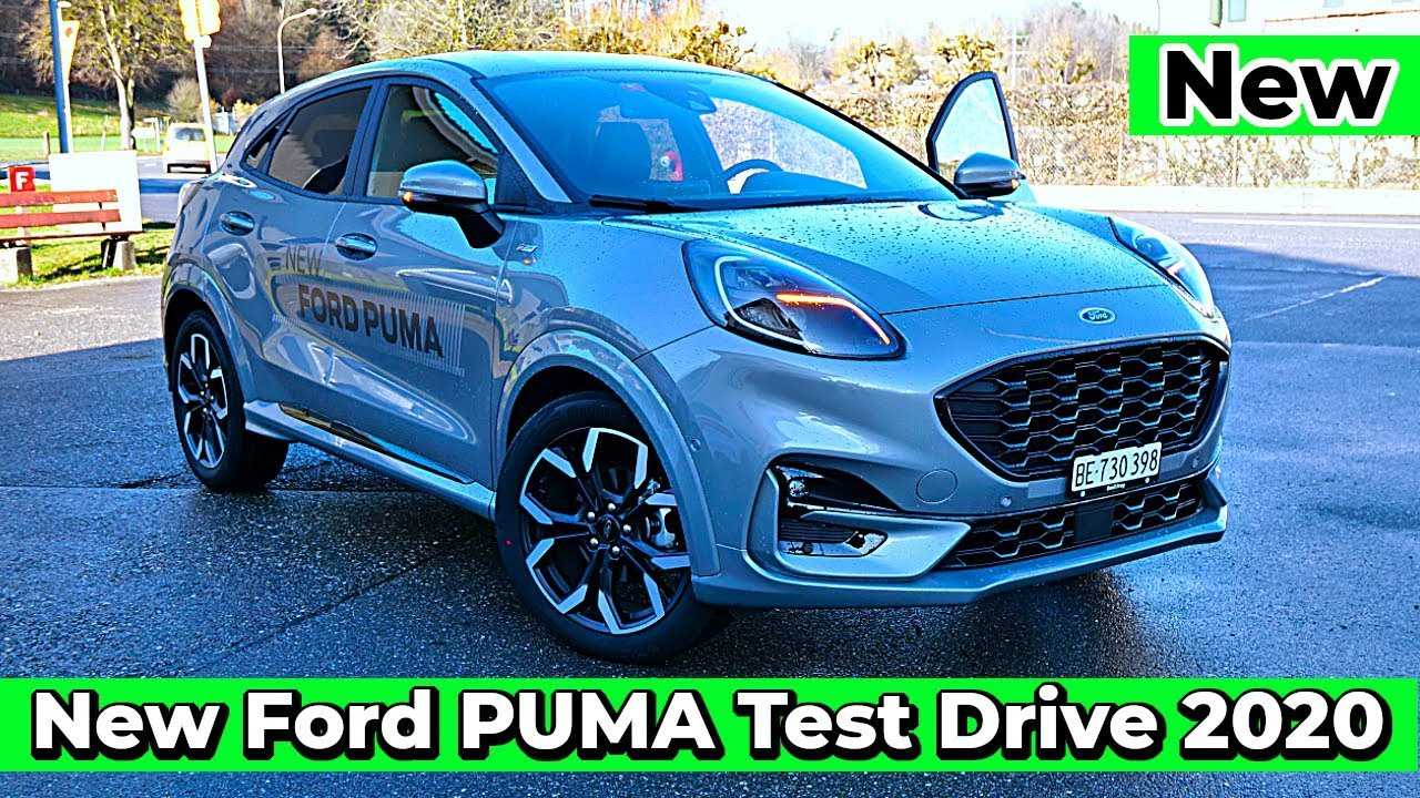 Test Drive New Ford Puma Hybrid St Line X 2020 Youtube