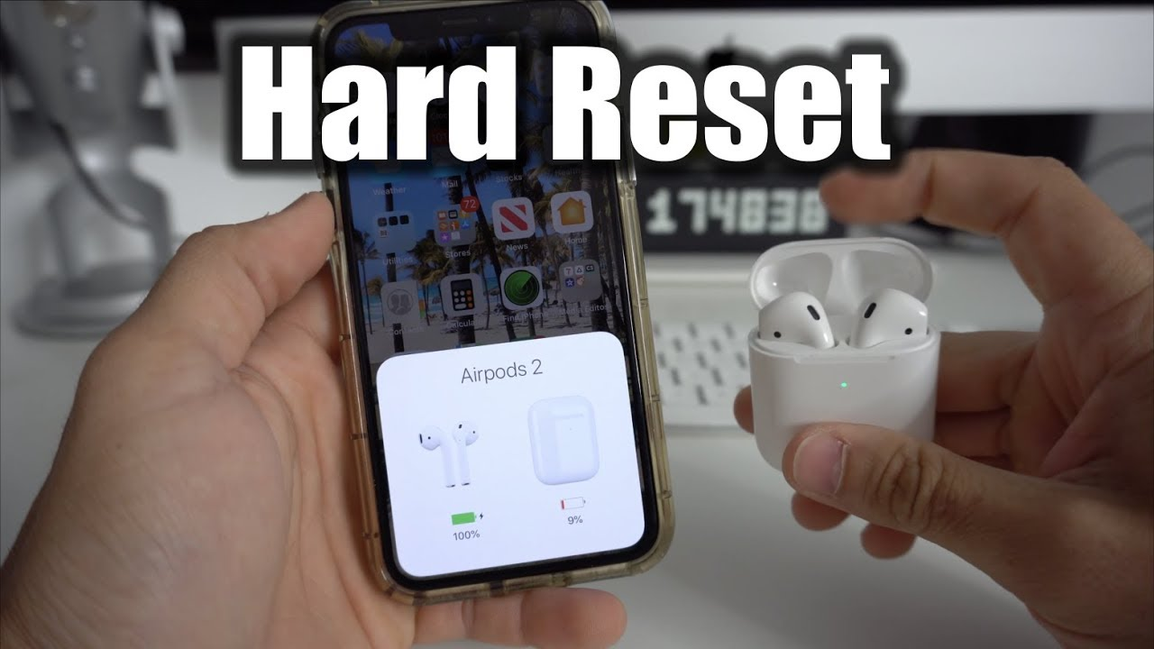 How To Reset your Apple AirPods 17 - Hard Reset