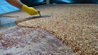 install epoxy natural stone flooring