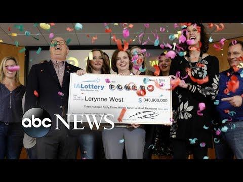 Hoss Michaels - Powerball Jackpot Winner From Iowa Claims Her Winnings