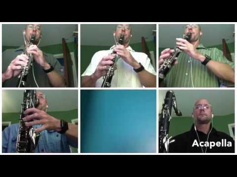 Cantina Band Clarinet Sextet