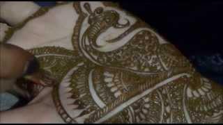 How To Draw Mehandi On Hand:Bridal Mehendi For Weddings Thumbnail