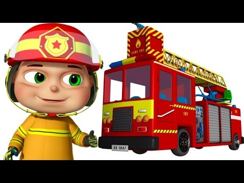 Thumbnail: Zool Babies As Fire Fighters | Zool Babies Series | Cartoon Animation For Children