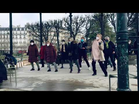 Mambo #5 au Luxembourg - Line Dance (Demo)