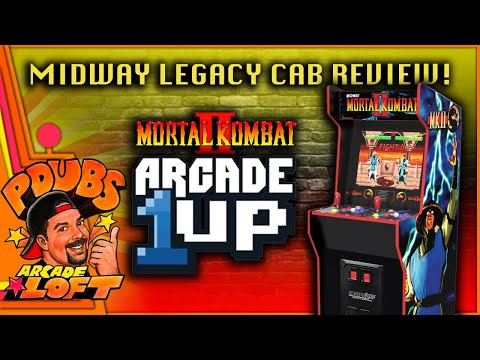 Arcade1Up Midway Legacy Cabinet Full Review! Is It Great? from PDubs Arcade Loft