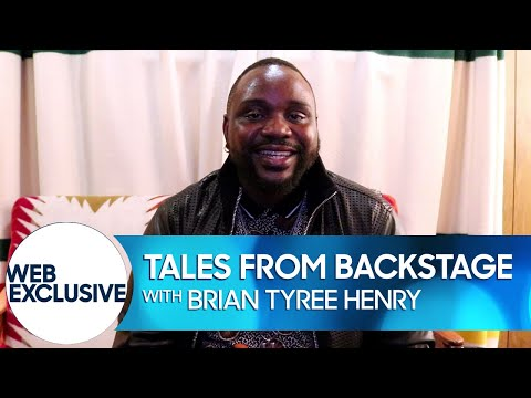 Tales from Backstage: Brian Tyree Henry