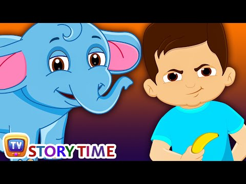 Thumbnail: Boy & Baby Elephant - Bedtime Stories for Kids in English | ChuChu TV Storytime